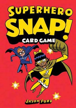 Superhero Snap Card Game