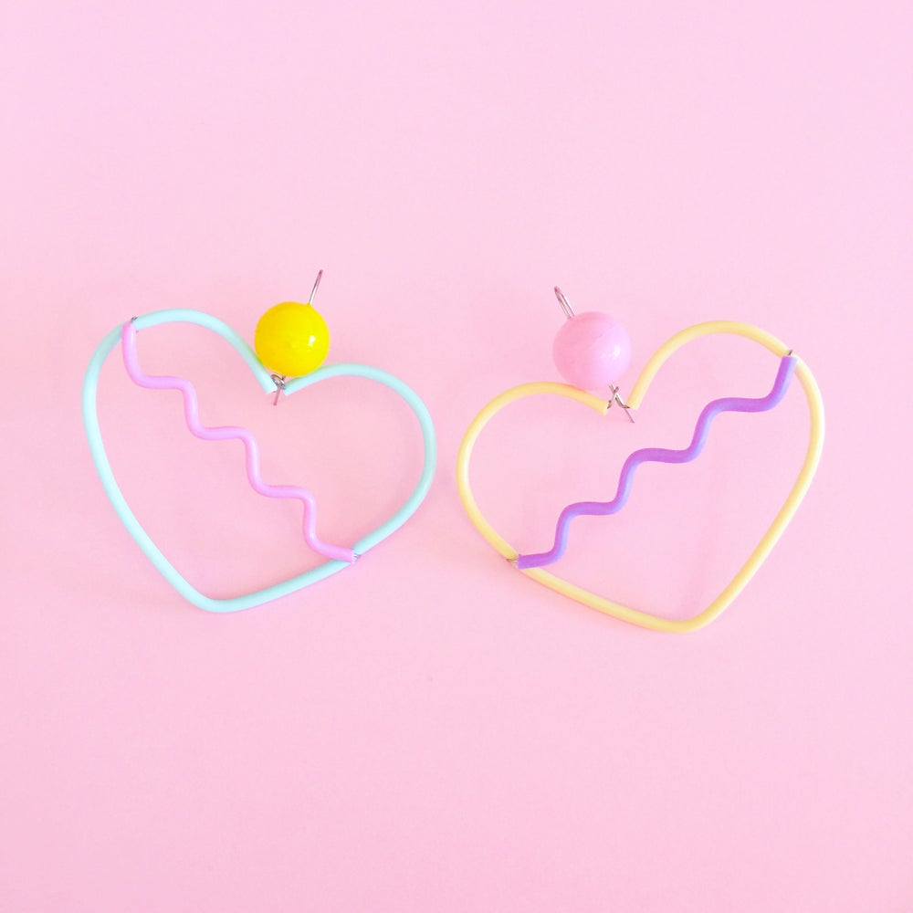 Sweetheart Earrings | Icecream