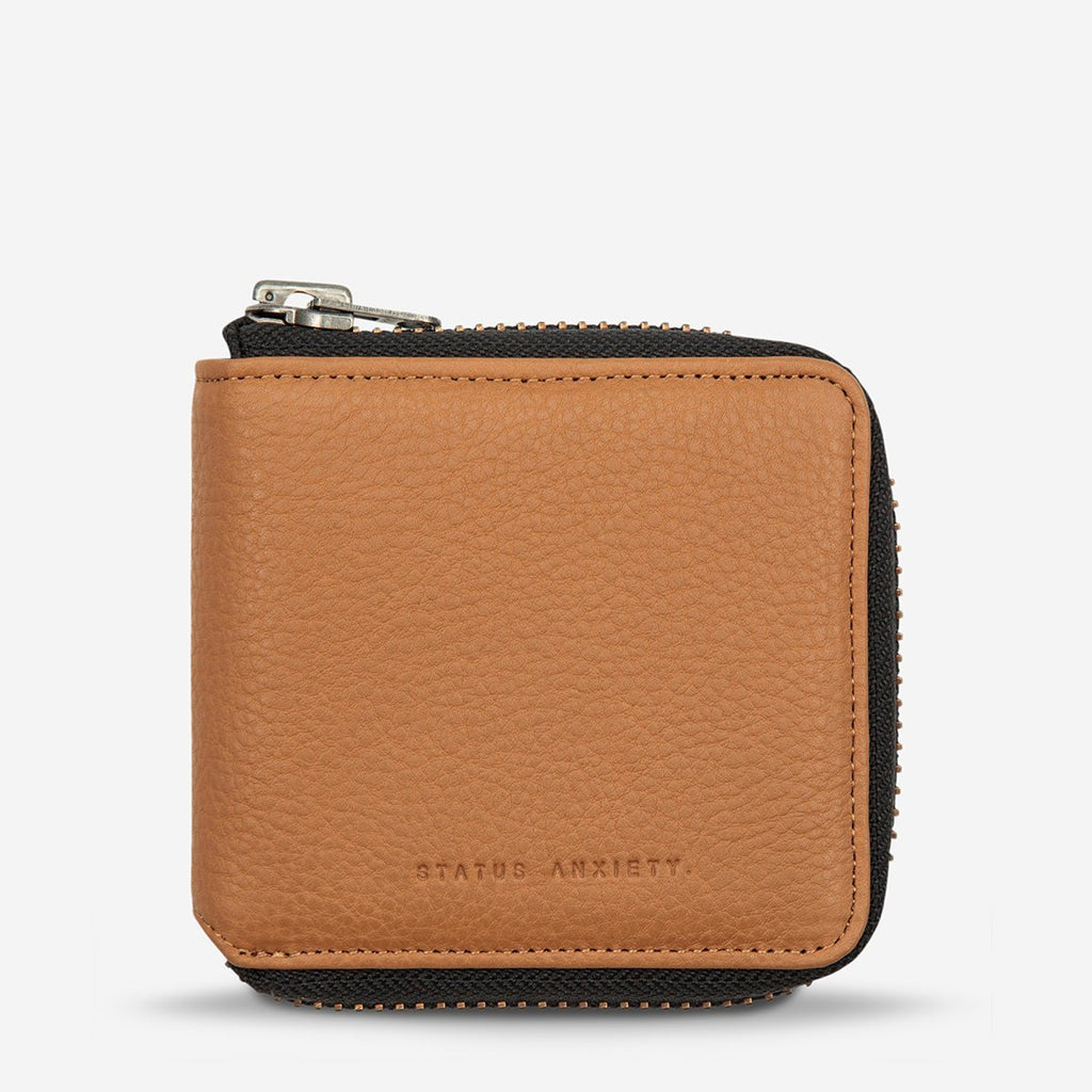 the cure wallet | tan