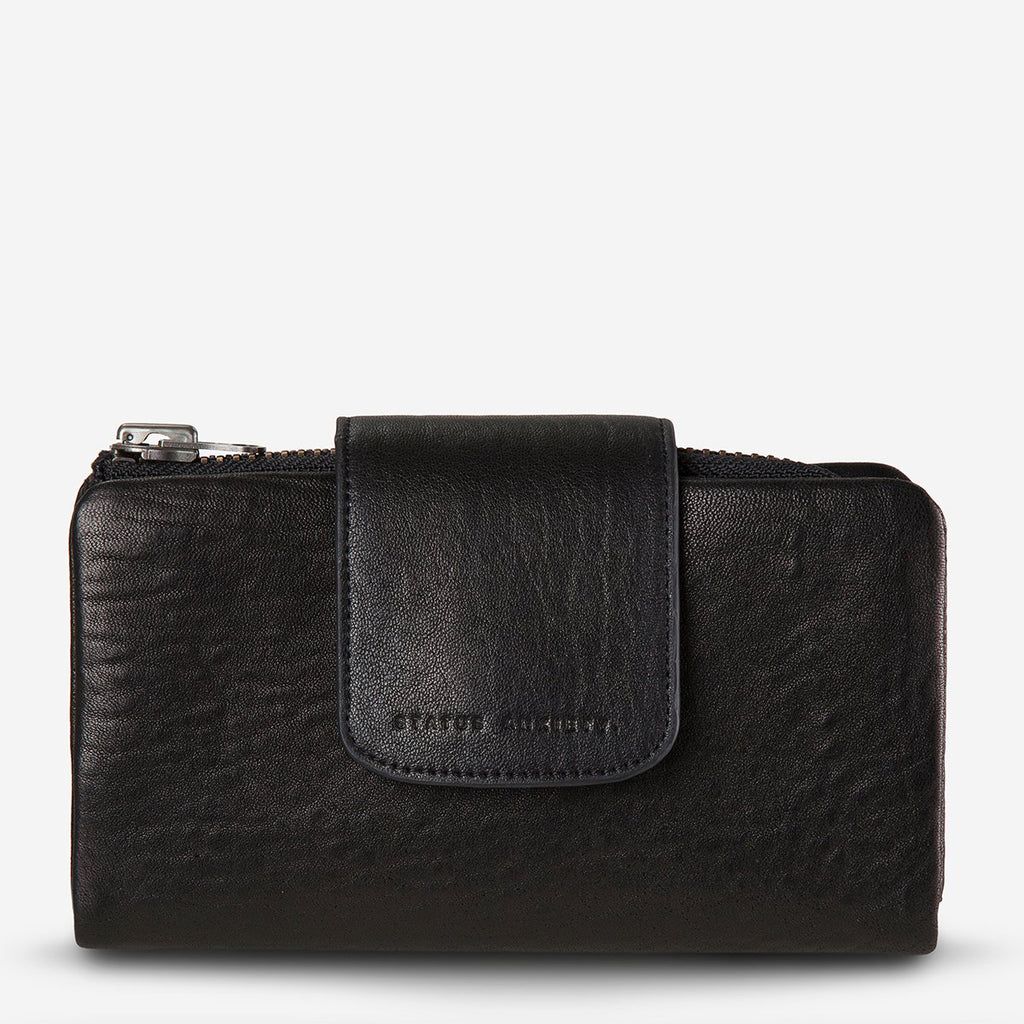 the fallen wallet | black