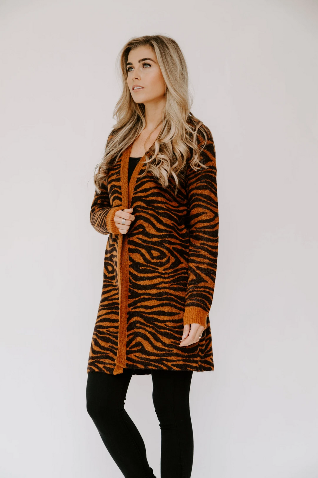 trinny cardigan | big cat
