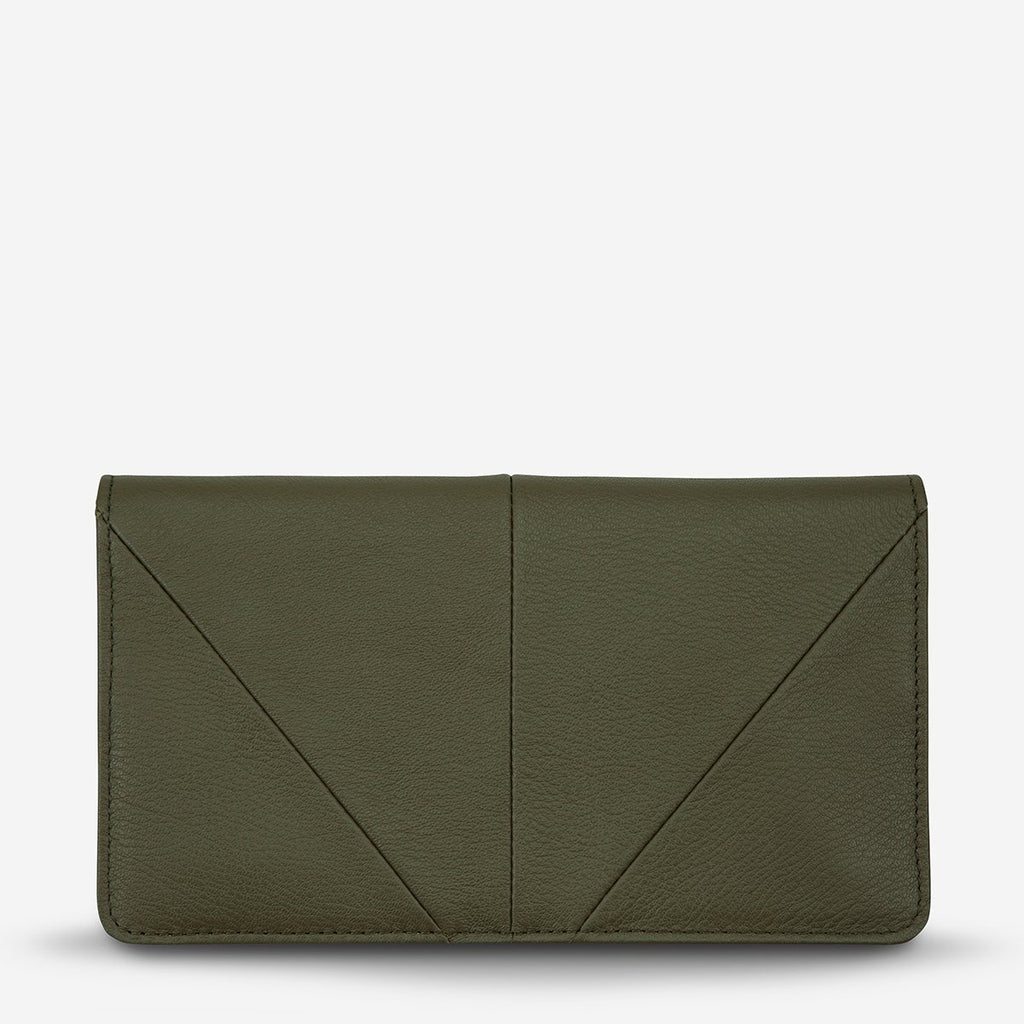triple threat wallet | khaki