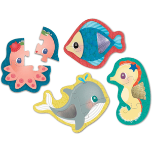 Touch & Feel Puzzle Under The Sea