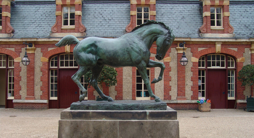 Waddesdon Manor: Bronze Horse by Boehm