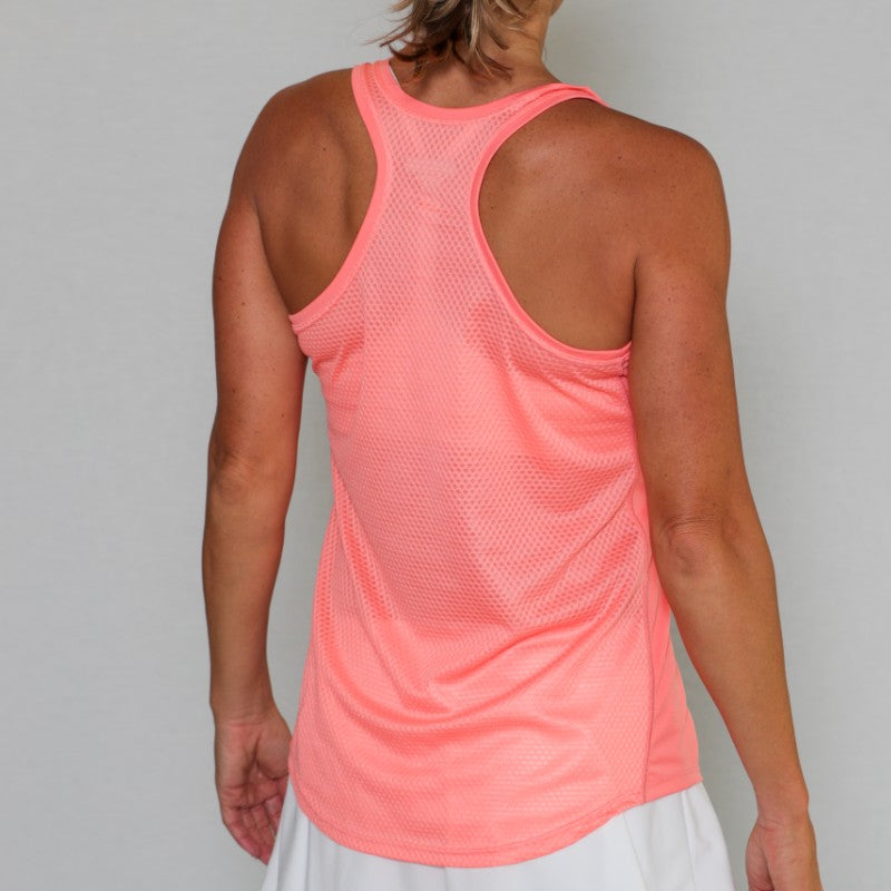 PB Pro™ Competition Coral Tank Top - PB PRO™ Pickleball Brand