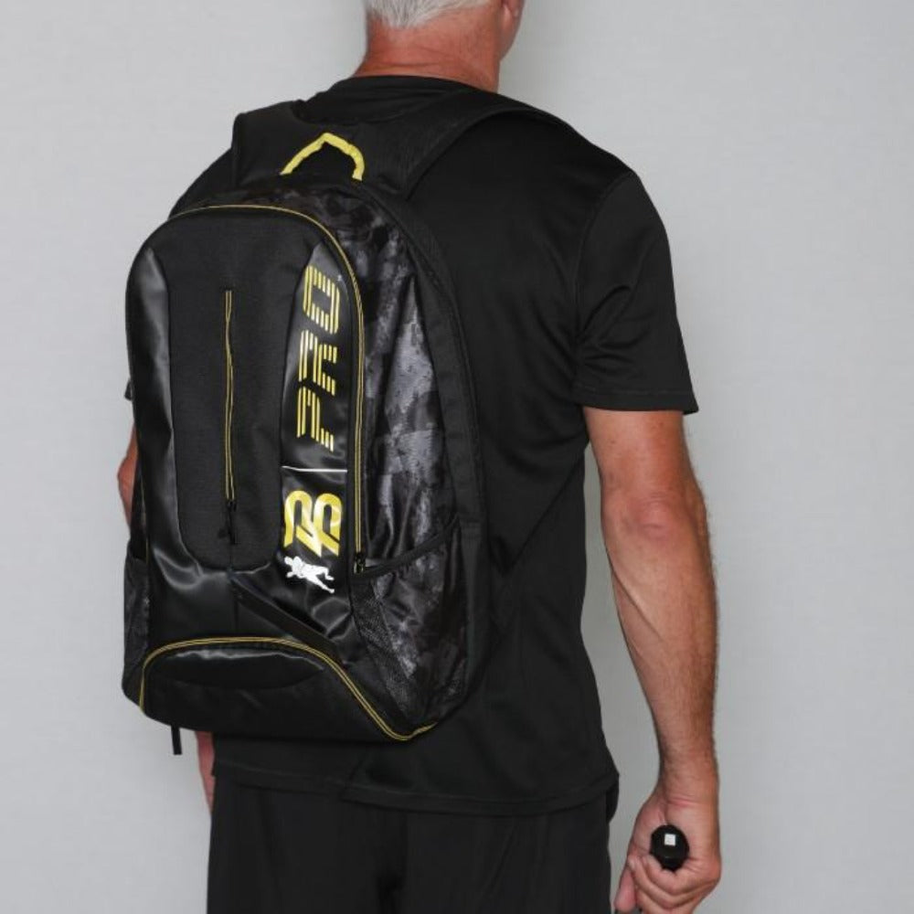 PB Pro™ Tour Signature Yellow Bag - PB PRO™ Pickleball Brand