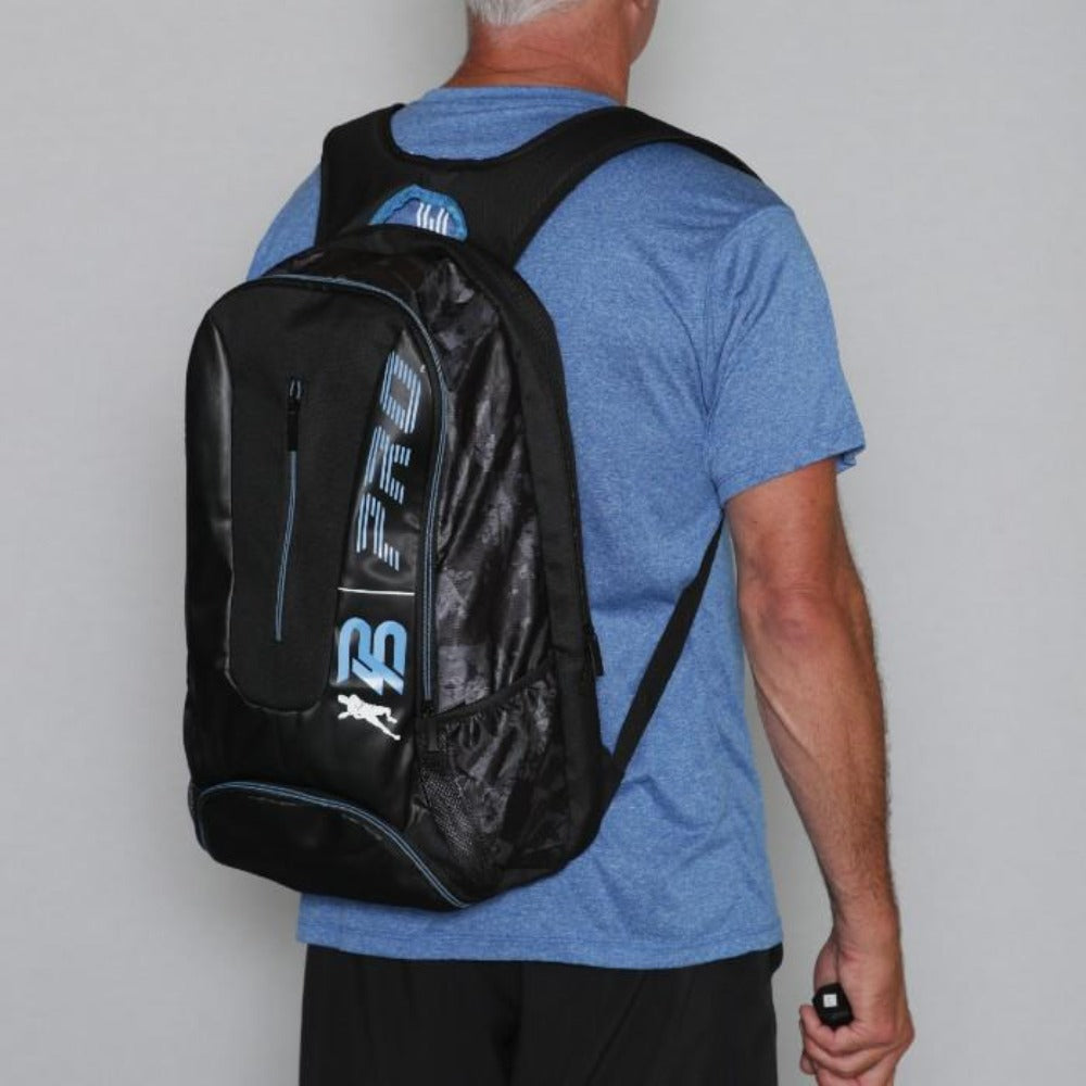 PB Pro™ Tour Signature Blue Bag - PB PRO™ Pickleball Brand