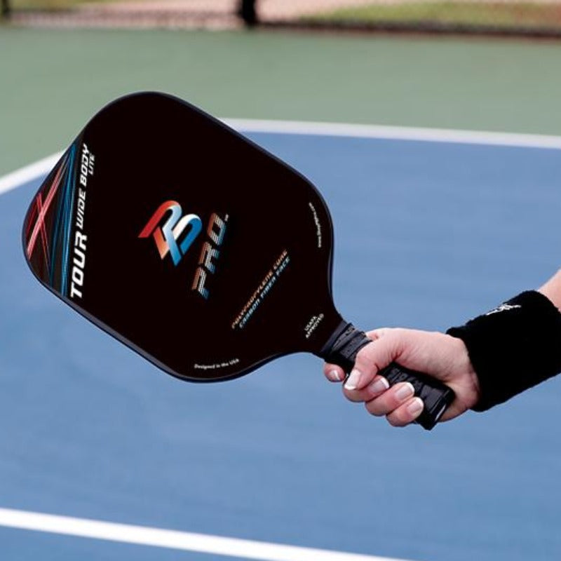 PB Pro™ Tour Widebody Ultra Lite 7.3 oz Carbon Fiber Paddle - PB PRO™ Pickleball Brand