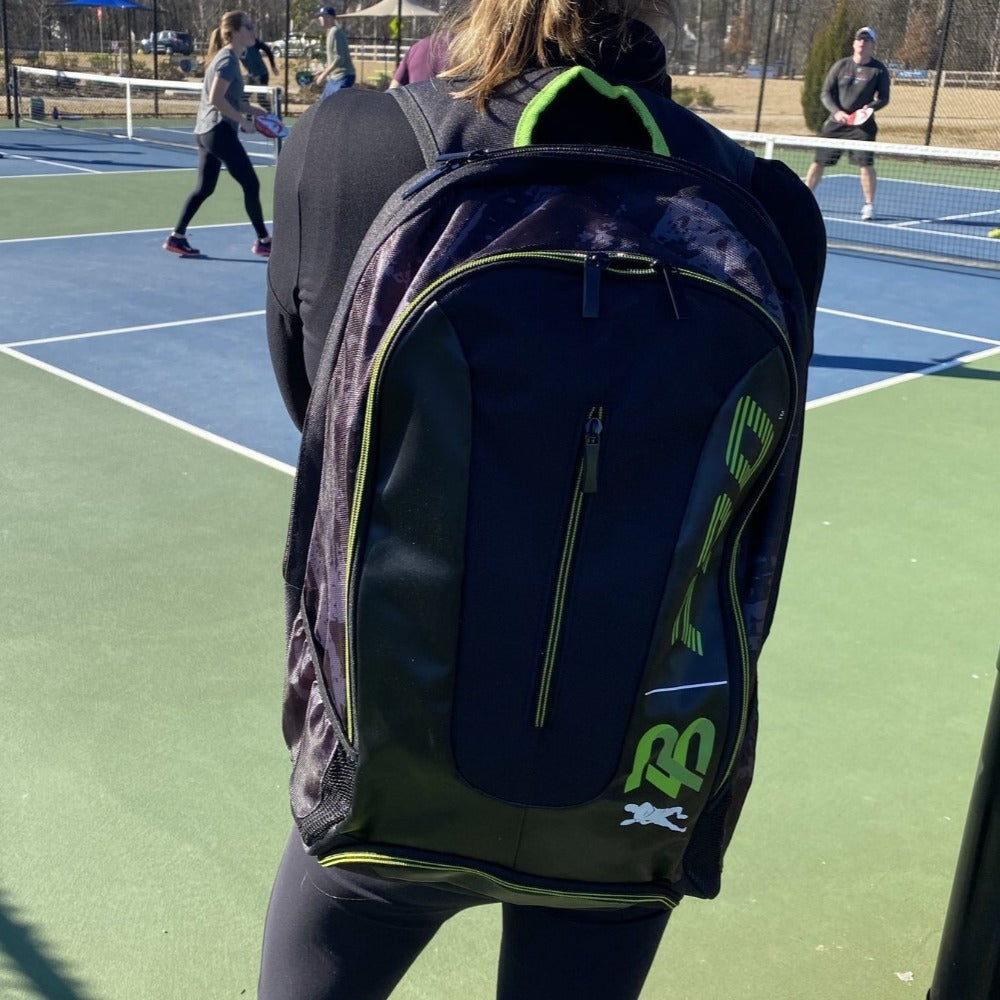 PB Pro™ Tour Signature Green Bag - PB PRO™ Pickleball Brand