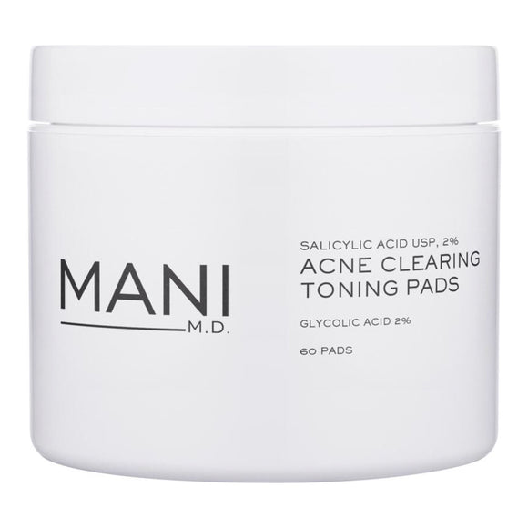 Mani M.D. Acne Clearing Toning Pads