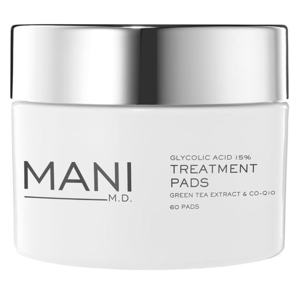 Mani M.D. Glycolic Acid 15% Treatment Pads