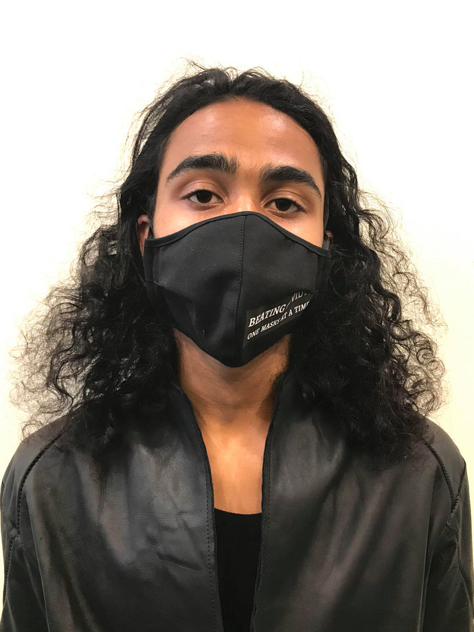 5M - VP2 WEIGHTLESS MASK - POLYPROPYLENE-BACKED COTTON || BEATING COVID19 ONE MASK AT A TIME
