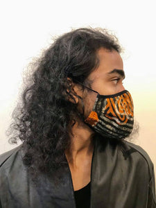 5M - VP2 WEIGHTLESS MASK - POLYPROPYLENE-BACKED COTTON || AFRICAN PRINT TYPE 5