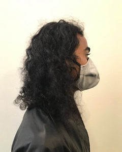 5M - VP2 WEIGHTLESS MASK - POLYPROPYLENE-BACKED COTTON || LIGHT GREY