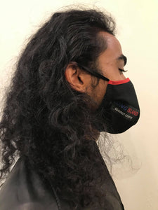 5M - VP2 WEIGHTLESS MASK - POLYPROPYLENE-BACKED COTTON || LONG ISLAND AGAINST COVID19