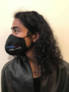 5M - VP2 WEIGHTLESS MASK - POLYPROPYLENE-BACKED COTTON || BROOKLYN AGAINST COVID19