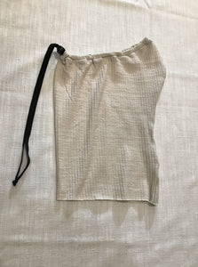 ORGANIC COTTON INFINITY GAITER - OFF WHITE