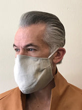 Load image into Gallery viewer, 5M - VP3 SELF-FILTERING MASK - ORGANIC LINEN || ECRU