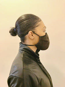 5M - VP2 MASK - ORGANIC LINEN || DARK BROWN