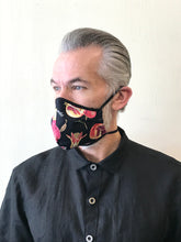 Load image into Gallery viewer, 5M - VP2 MASK - POLYPROPYLENE-BACKED COTTON || POMEGRANATE PINK