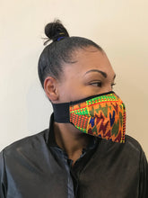 Load image into Gallery viewer, 5M - VP1 SELF-FILTERING MASK - PRINTED COTTON || AFRO PRINT A