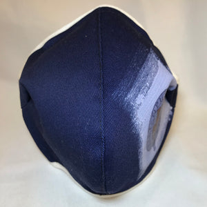 5M - VP2 MASK JAMAICAN HS EDITION - POLYPROPYLENE-BACKED COTTON || JAMAICA COLLEGE NAVY