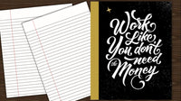 Composition Book  | Quote Cover v1