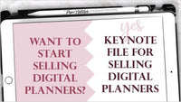 AllN1 Planner | Commercial Use | Keynote File