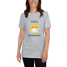 Load image into Gallery viewer, Social Distancing Short-Sleeve Unisex T-Shirt
