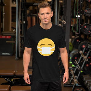 Emoji W/ Mask Short-Sleeve Unisex T-Shirt