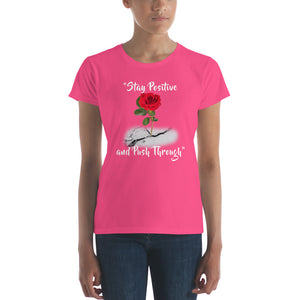 Women's Push Through short sleeve t-shirt