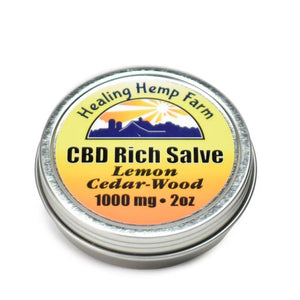 CBD Rich Salve -  Lemon Cedar-Wood