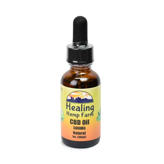 CBD Oil - Natural 500MG