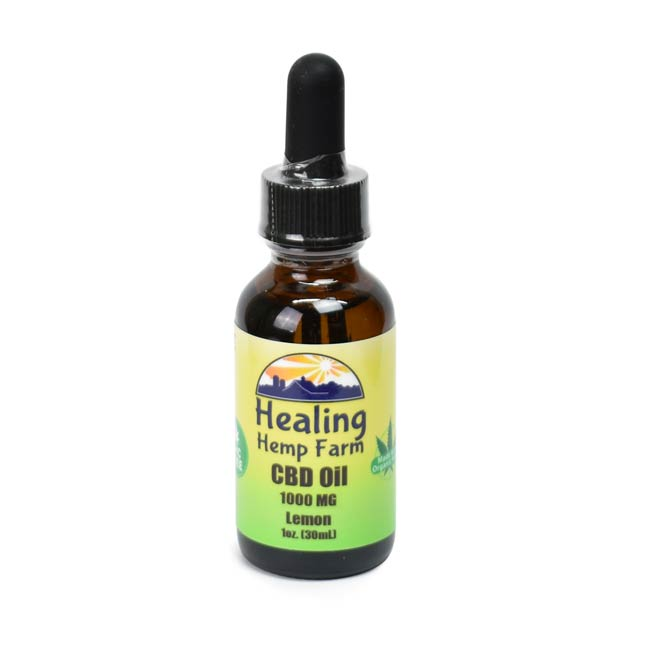 CBD Oil - THC Free Lemon 1000MG