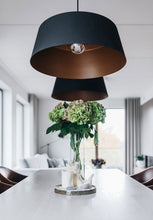 Load image into Gallery viewer, Circus Pendant Light Corinna Warm Large Black/Bronze Interior Contemporary Lighting