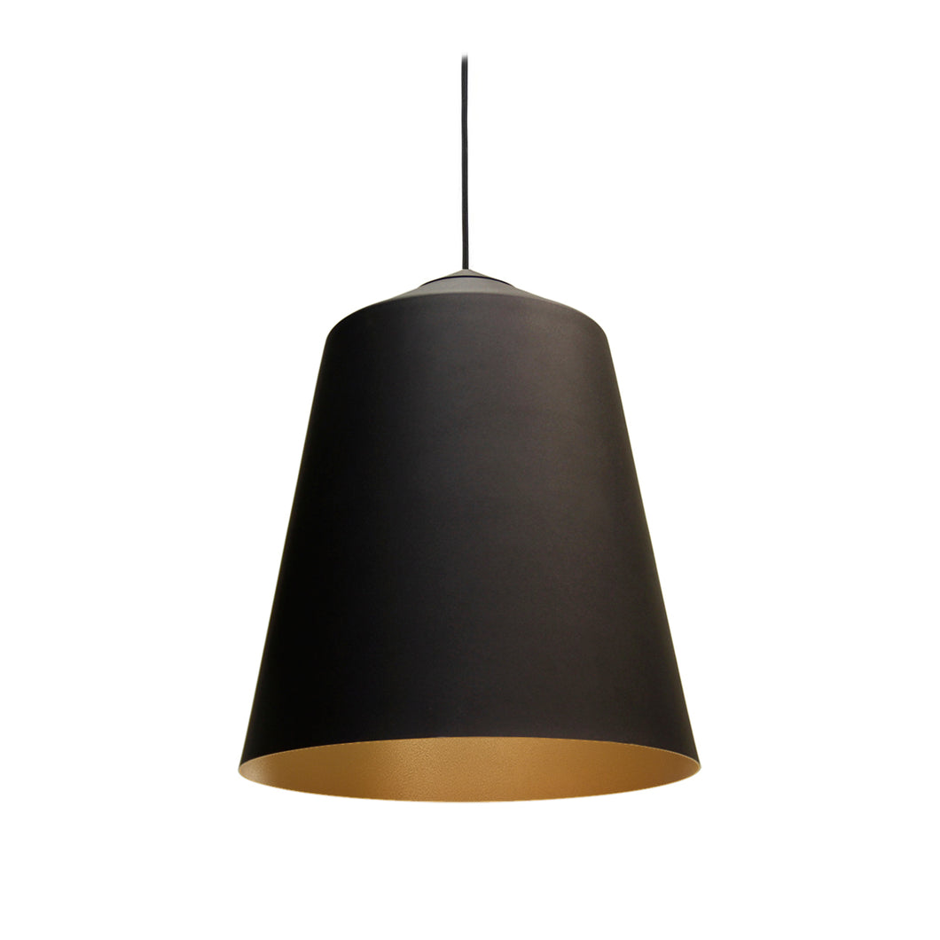 The Medium Circus Pendant Light - Black/Gold © Original Design by Corinna Warm