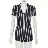 All Stripes Romper - Taylar Diarra