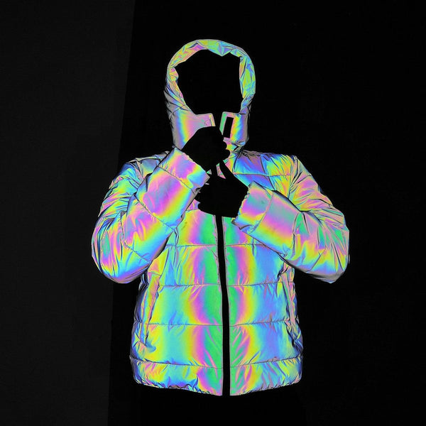 Reflective Bubble Coat - Taylar Diarra