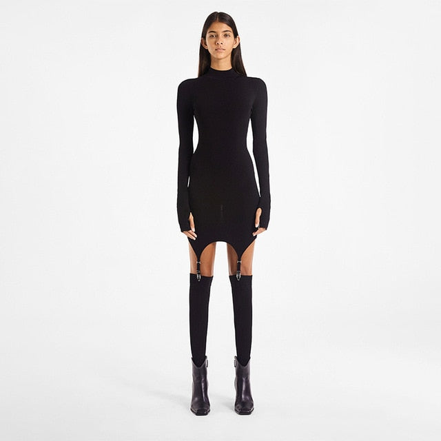 Amber Long Sleeve Dress With Stockings - Taylar Diarra