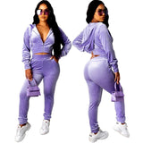 Velvet Everything Tracksuit - Taylar Diarra