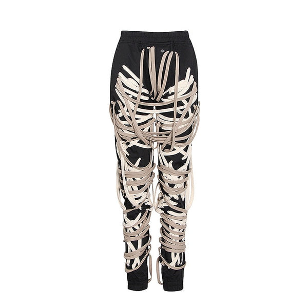 Tie Me Up Bandage Pants - Taylar Diarra