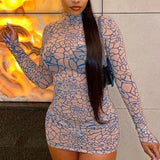Love Language See Through Mini Dress - Taylar Diarra