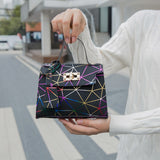 Geometric Crossbody Bag - Taylar Diarra