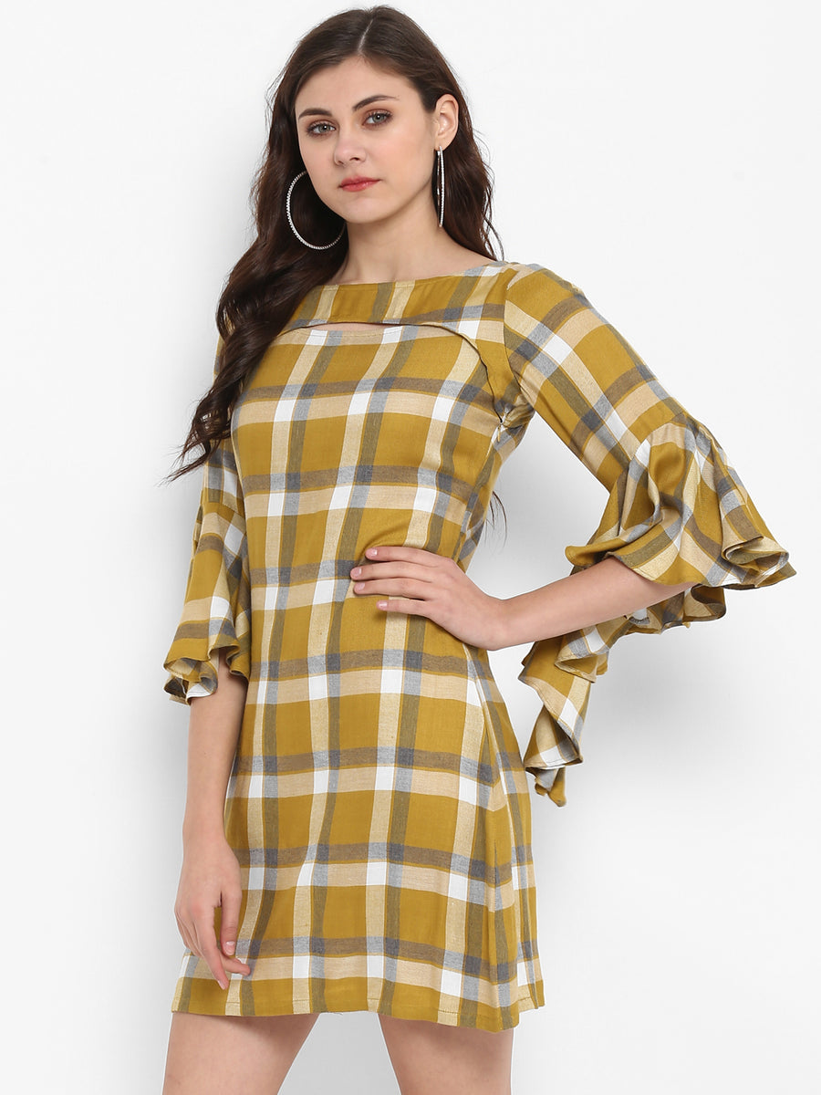 Chequered Dress