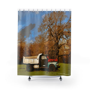 Shower Curtains - Old Truck