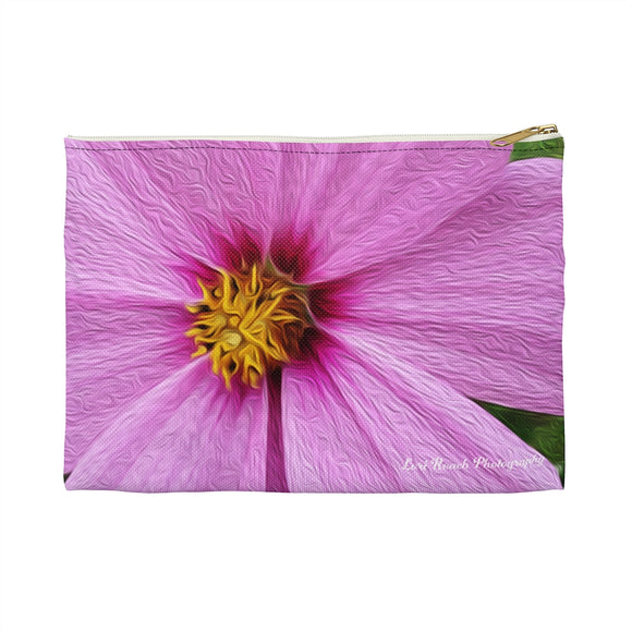 Accessory Pouch - Pink Cosmos