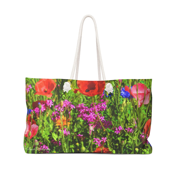 Weekender Bag - Field of Flowers