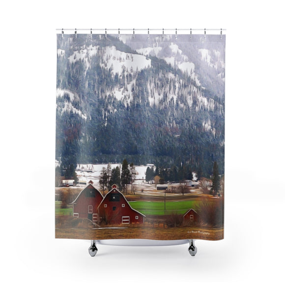 Shower Curtains - Double Barns