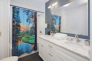 Shower Curtains - Deschutes
