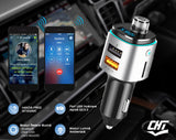 Modulator FM, Bluetooth Car Kit Transmitator FM, USB quickcharge 3.0, Port muzica USB, Slot Card microSD, Port incarcare telefon, Handsfree CHT